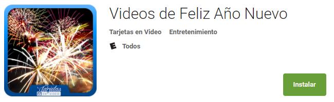 Videos de Feliz Año Nuevo
