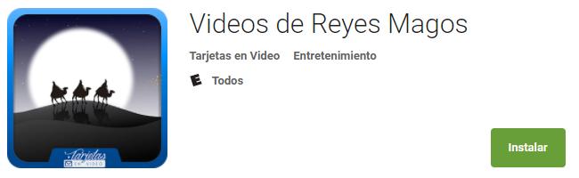 Videos de Reyes Magos